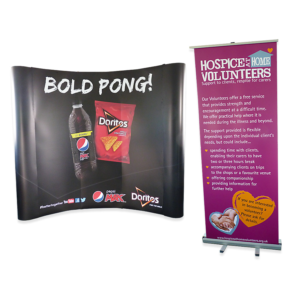 Pop Up and Pull Up Banners